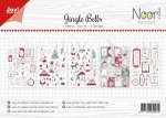 6011/0429 Papierset Jingle Bells - NL - DIN A4